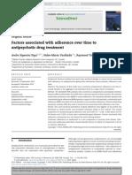Factores Asociados a Adherencia en Esq y Tb