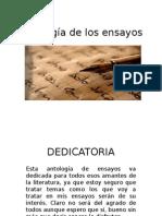 Antología de Los Ensayos