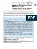 Hyle - The Clinical and Economic Impact of Point-Of-care CD4 Testing in Mozambique and Other Resource-limited Settings a Cost-effectiveness Analysis