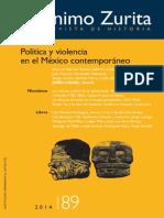 Relaciones Prensa-Poder en Veracruz, México. Del modelo clientela-auoritario a la nueva estrategia de negocios e un entorno violento