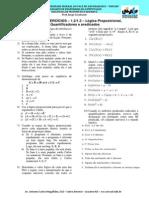 Lista Exercicios 02 Introducao Logica Proposicional