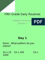 grade5 dailyroutineproblems powerpoint q1 2015-2016  9