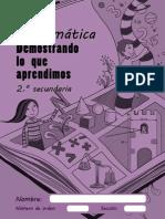 Matematica 2do Secundaria- LAN