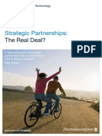 Strategic Partnerships the Real Deal