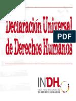 Librillo Instituto Nacional de Los Derechos Humanos