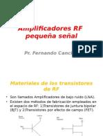 Amplificadores RF