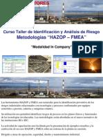 Curso in Company HAZOP - FMEA