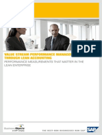 Value Stream Performance Management Through Lean Accounting