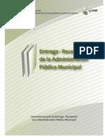 Manual Entrega Recepción Estado de México