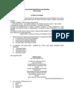 Evaluación Diagnóstica de Español 1o
