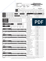 Hoja D&D 3.5 Editable Español