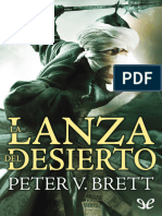 La Lanza Del Desierto - Peter v. Brett