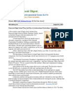 Pa Environment Digest Aug. 31, 2015