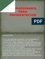 Maquinaria