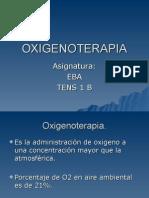 Oxigenoterapia Clase 2