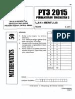 2015 PPT3 Kedah Math w Ans