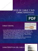 Tipos de Cable y Sus Características