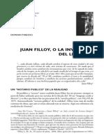 Juan Filloy o La Invención Del Lenguaje