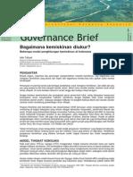 CIFOR -Bagaimana Kemiskinan Diukur - Beberapa Model Penghitungan Kemiskinan Di Indonesia (Governance Brief)