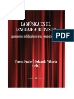 Musica y Lenguaje Audiovisual Frailevic3b1uela