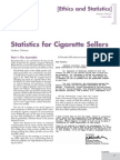 Statistics for Cigarette Sellers - Andrew Gelman