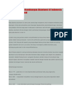 Sejarah Dan Perkembangan Akuntansi Di Indonesia Dan