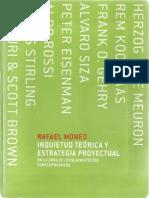 Rafel Moneo sobre Alvaro Siza