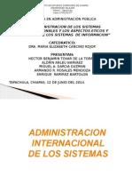 Administracion de Los Sistemas Internacionales Equipo 3