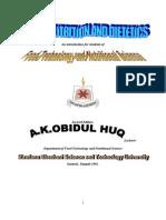 Human Nutrition And Dietetics Pdf