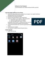 Software Upgrade Q800