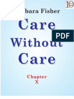 Care Without Care (Chapter X)