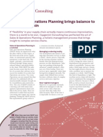 Sales and Operations Planning Brings Balance to the Supply Chain 0