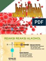 Alkohol Reaksi