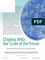 Chipless RFID Bar Code of the Future