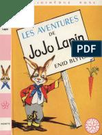Les Aventures de Jojo Lapin - Enid Blyton