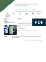 Chá de Limão, Gengibre e Canela