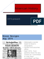 Modern American History Ppp