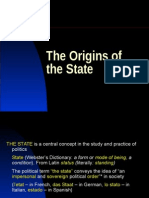 The Origins of the State