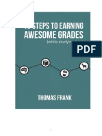 10 Steps to Earning Awesome Grades