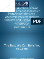 Clinical Education Scholar Program