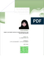 Khadija Al-Nuaimi CV