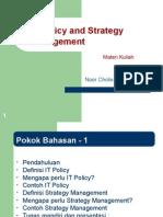 IT Policy dan strategi mana gement chapter 4
