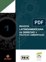 1 Revista Latinoamericana de Derecho y Politicas Ambientales