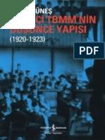 İhsan Güneş - Birinci Türkiye Büyük Millet Meclisinin Düşünce Yapısı (1920-1923) (1)