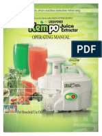Kempo Juicer Manual
