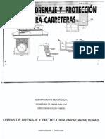 Cartiila de Obras de Drenaje y Proteccion de Carreteras