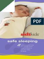 Sids Kids Safe Sleeping