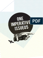 One Imperative Issue 05