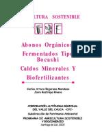 Agricultura OrganicaCartillaAbonos Biofertilizante y Caldos