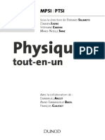 Physique Tout en Un MPSI PTSI
